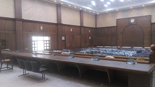 Chief Justice Court Room With Bosch System